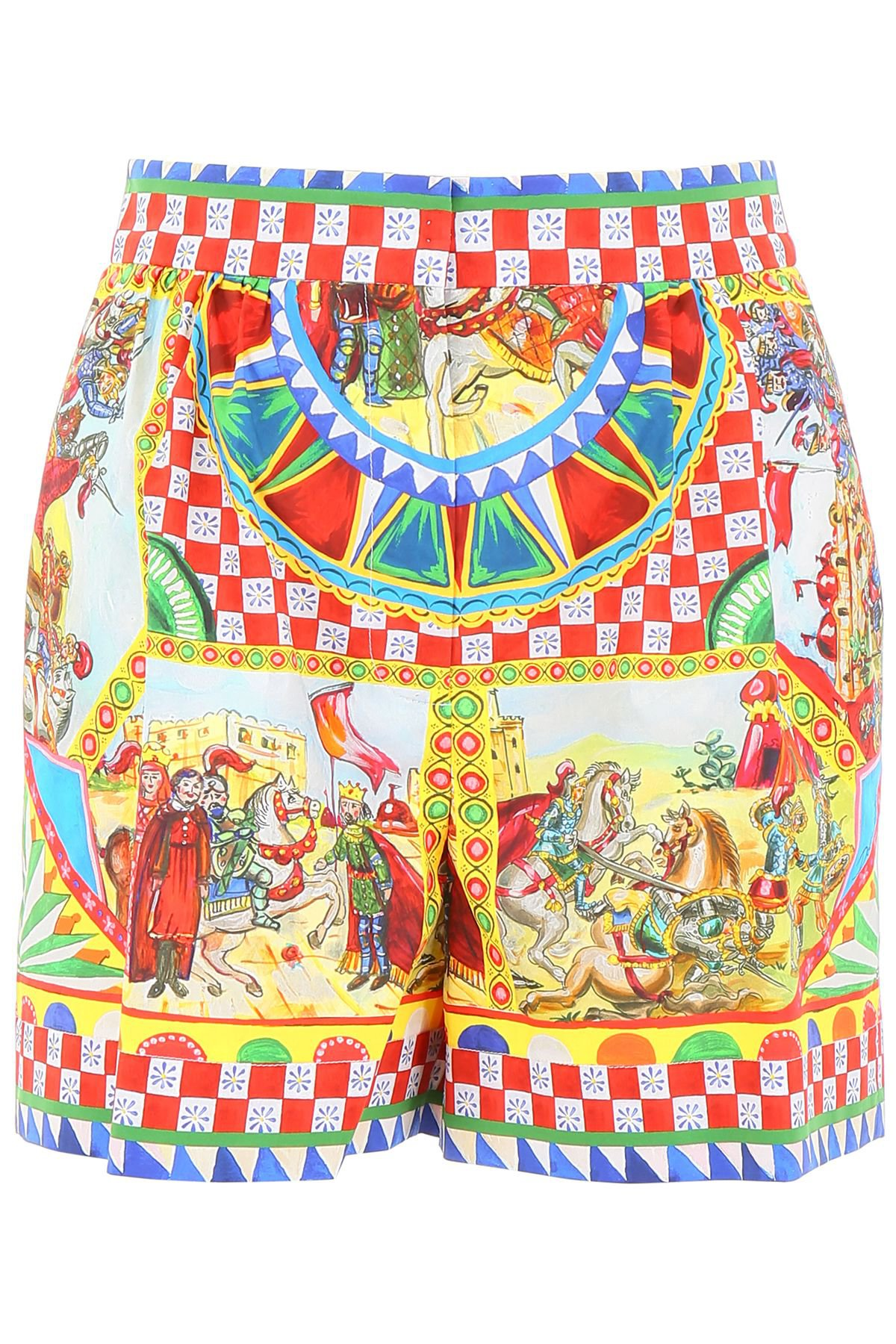 Dolce & Gabbana Carretto Print Shorts