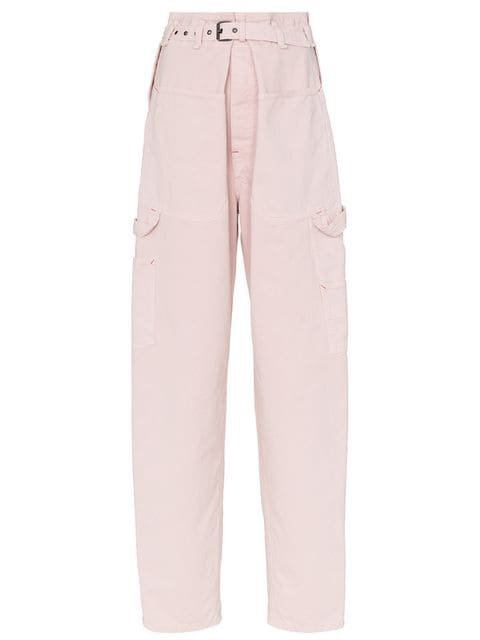 Isabel Marant Inny Paperbag Waist Trousers - Farfetch
