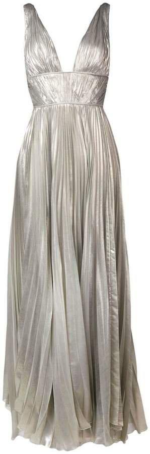 Riley metallic maxi dress