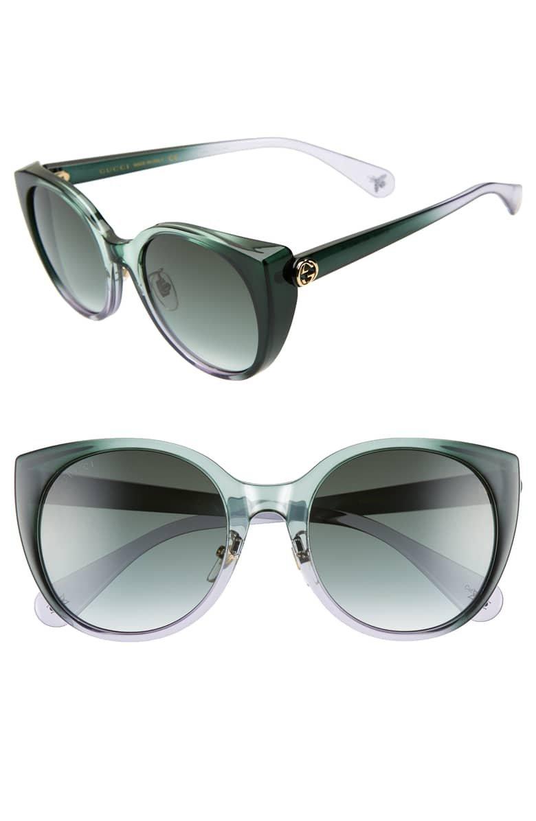Gucci 54mm Cat Eye Sunglasses | Nordstrom