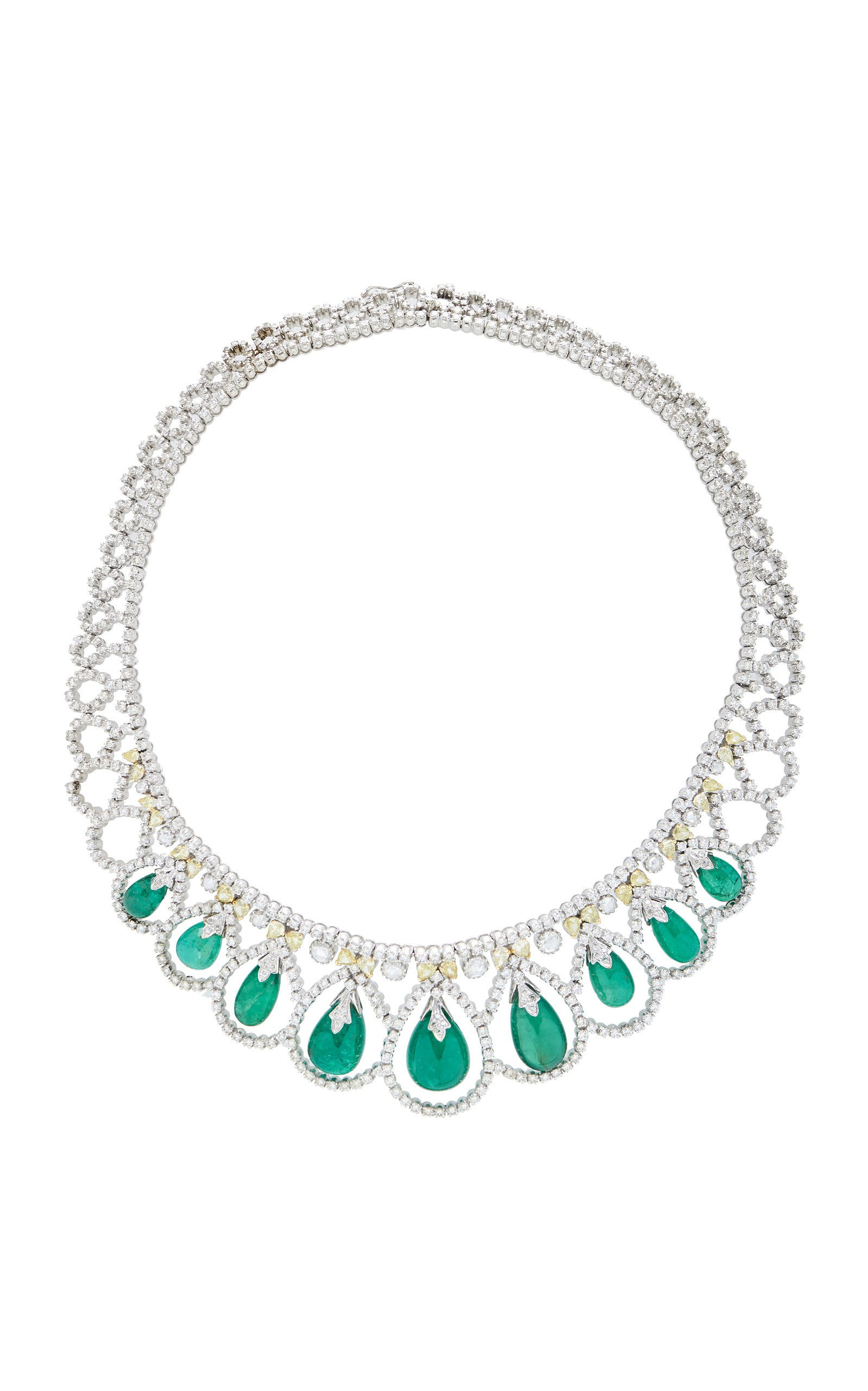 Amrapali Emerald and Diamond Necklace