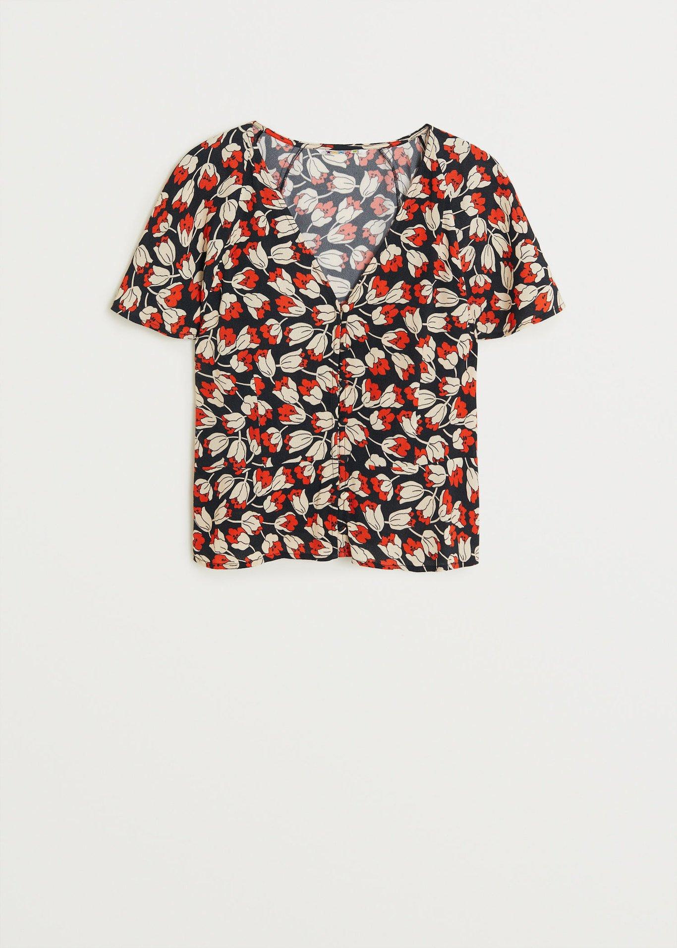 Floral print blouse - Woman | Mango Canada