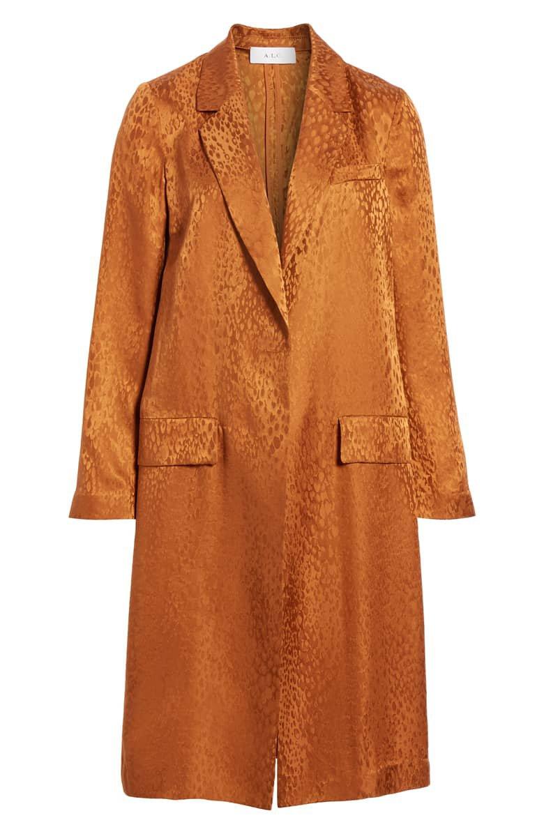 A.L.C. Charleston Silk Jacquard Jacket | Nordstrom