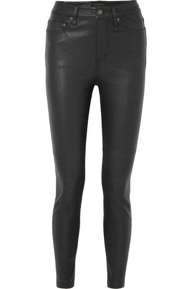 Equipment   Skinny leather pants   NET-A-PORTER.COM