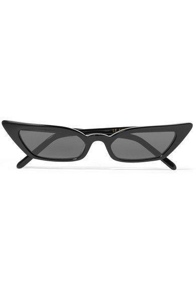 Poppy Lissiman | Le Skinny cat-eye acetate sunglasses | NET-A-PORTER.COM
