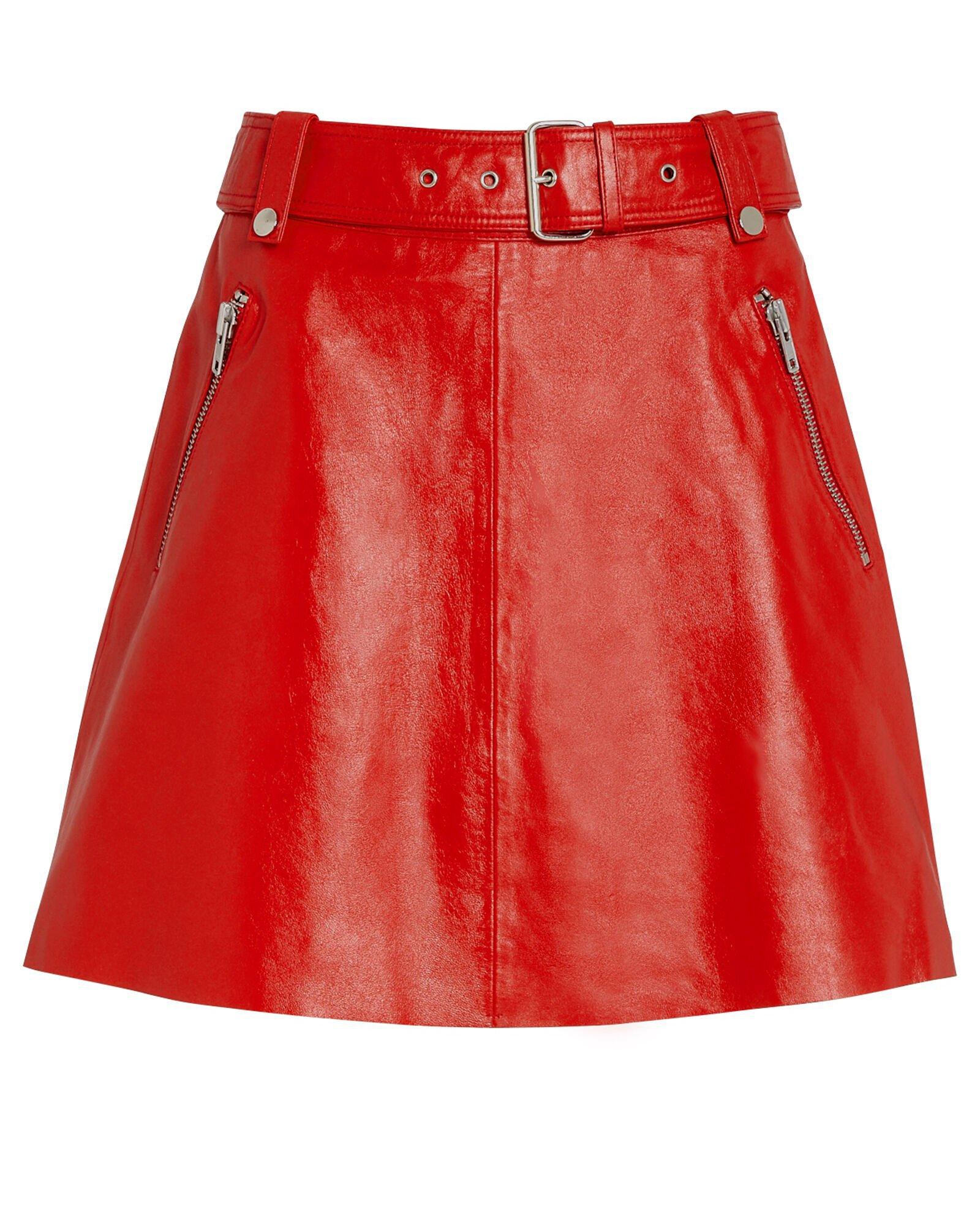 Magnolia Leather Mini Skirt
