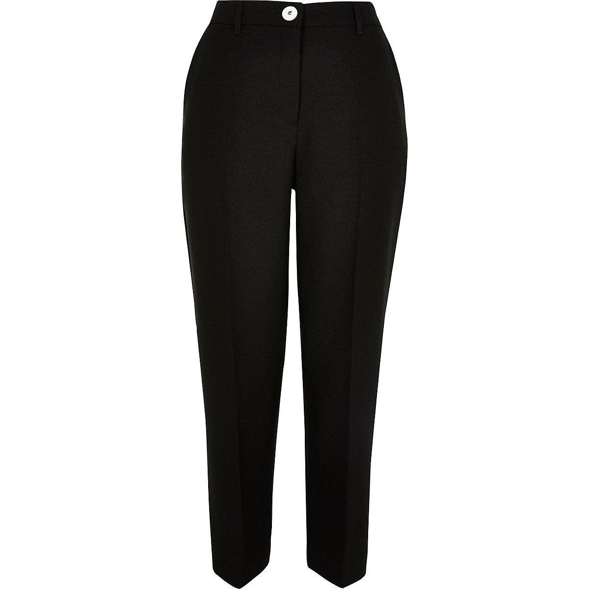 Black cigarette pants - Cigarette Pants - Pants - women