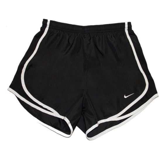 black nike sport shorts