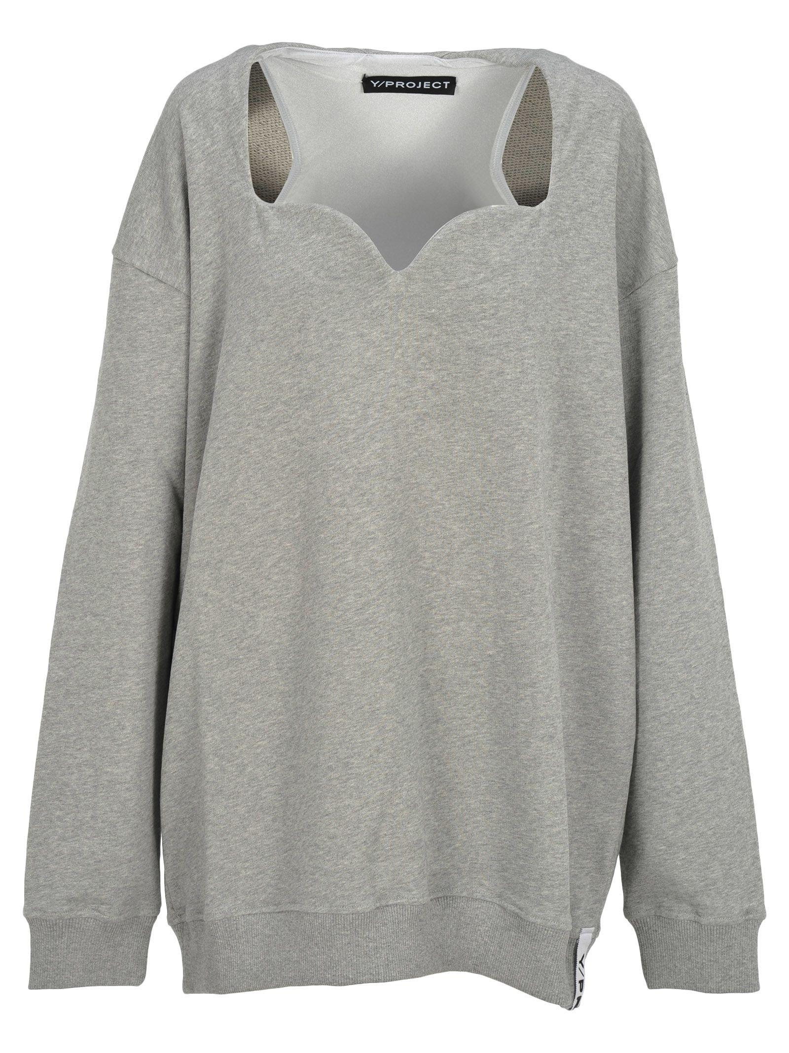 Y/project Y/project Oversized Sweatshirt