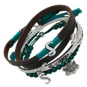 Harry Potter Slytherin Bracelet Set – Harry Potter Shop