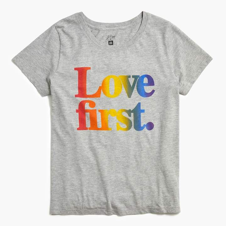 "x Human Rights Campaign ""Love first"" T-shirt"
