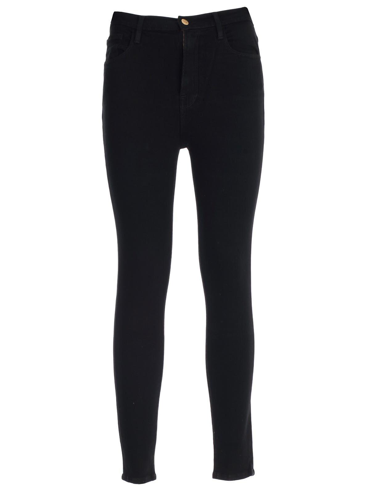 Jeans Skinny Elastic High Waist