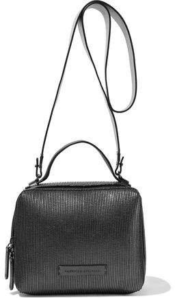 Beaded Leather Shoulder Bag