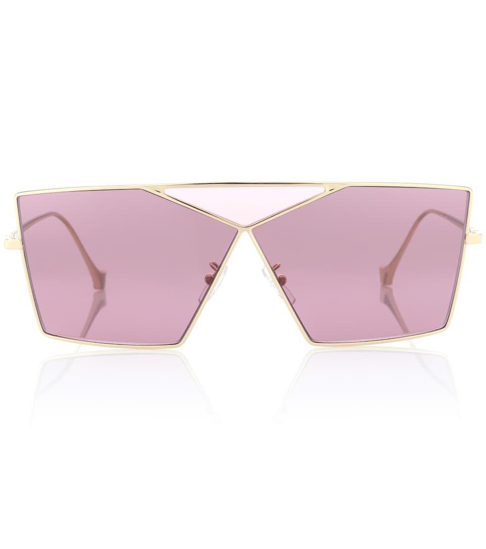 Square Puzzle Sunglasses   Loewe