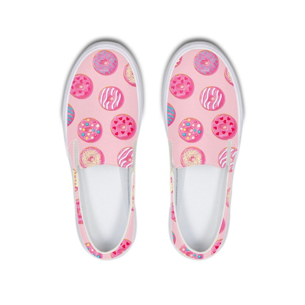 Detail Feedback Questions about Kawaii Pink Donut Ladies Flats Women Flat Platfrom Canvas Shoes Loafer Cute Rubber Sneakers for Girls Footwear Zapatos De Mujer on Aliexpress.com | alibaba group