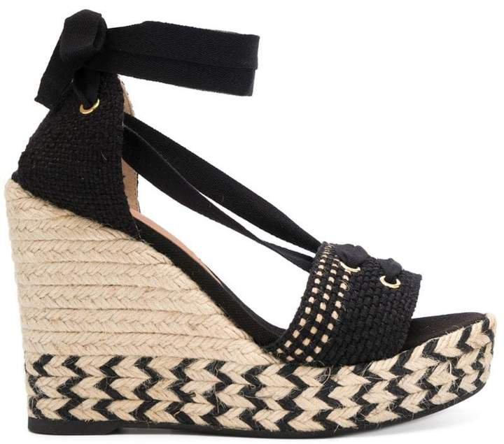 high wedge heel sandals