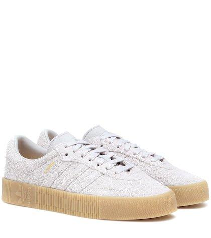Samba Rose suede sneakers