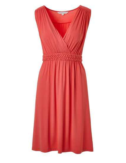 Coral Summer Dress | Cleo