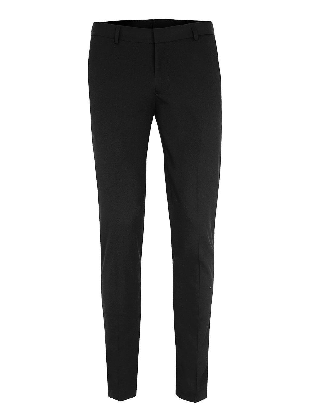 Black Ultra Skinny Fit Dress Pants