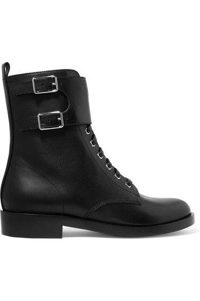 Gianvito Rossi   La Garde leather boots   NET-A-PORTER.COM