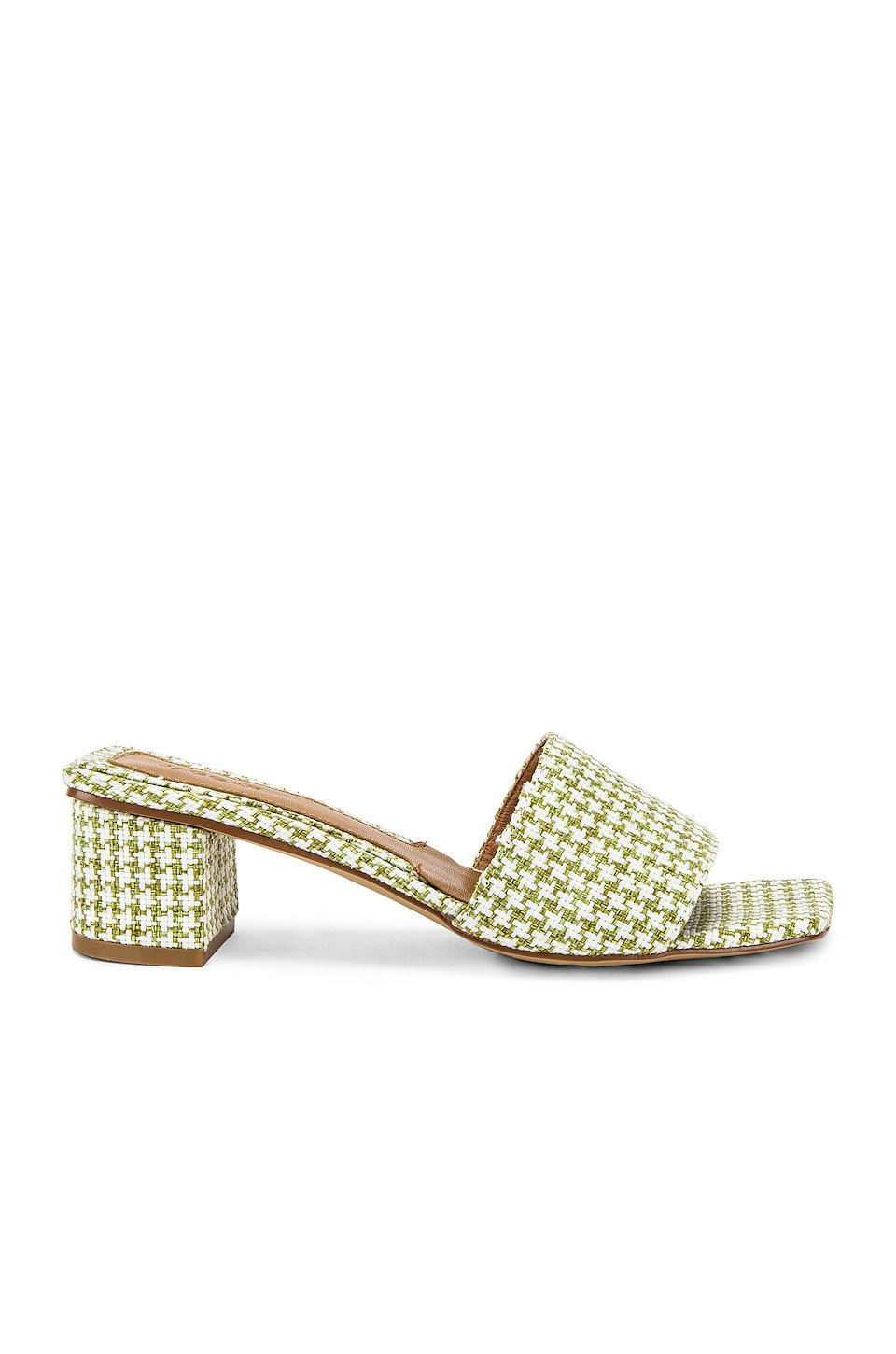 Meadow Houndstooth Sandal