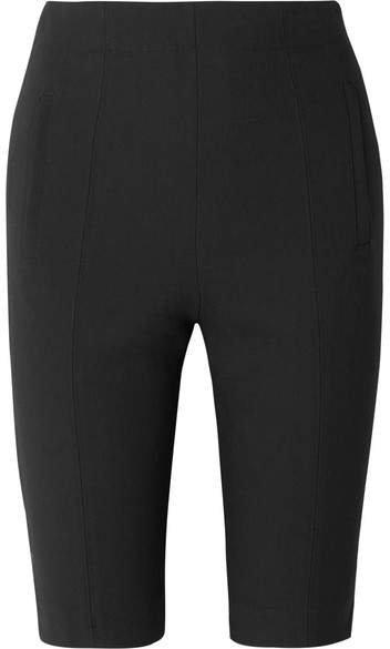 Anson Stretch-plainweave Shorts - Black