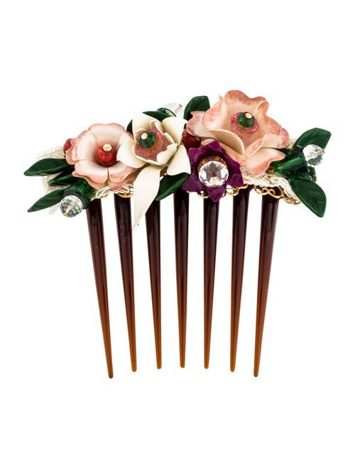 Dolce & Gabbana Embellished Hair Comb - Accessories - DAG128862 | The RealReal