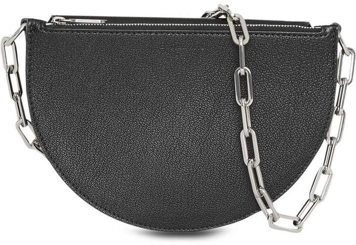 The Small Leather D Bag