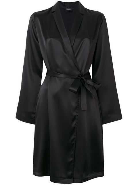 La Perla Silk Short Robe - Farfetch