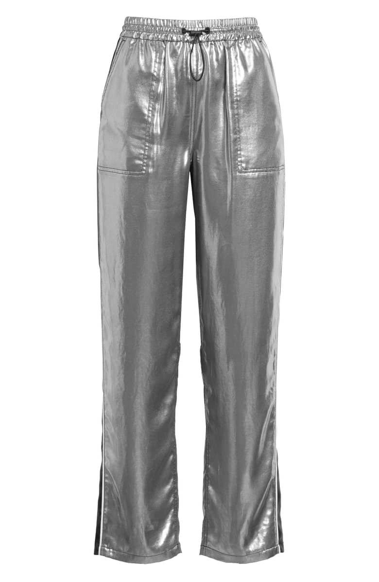 rag & bone Sloane Metallic Track Pants | Nordstrom