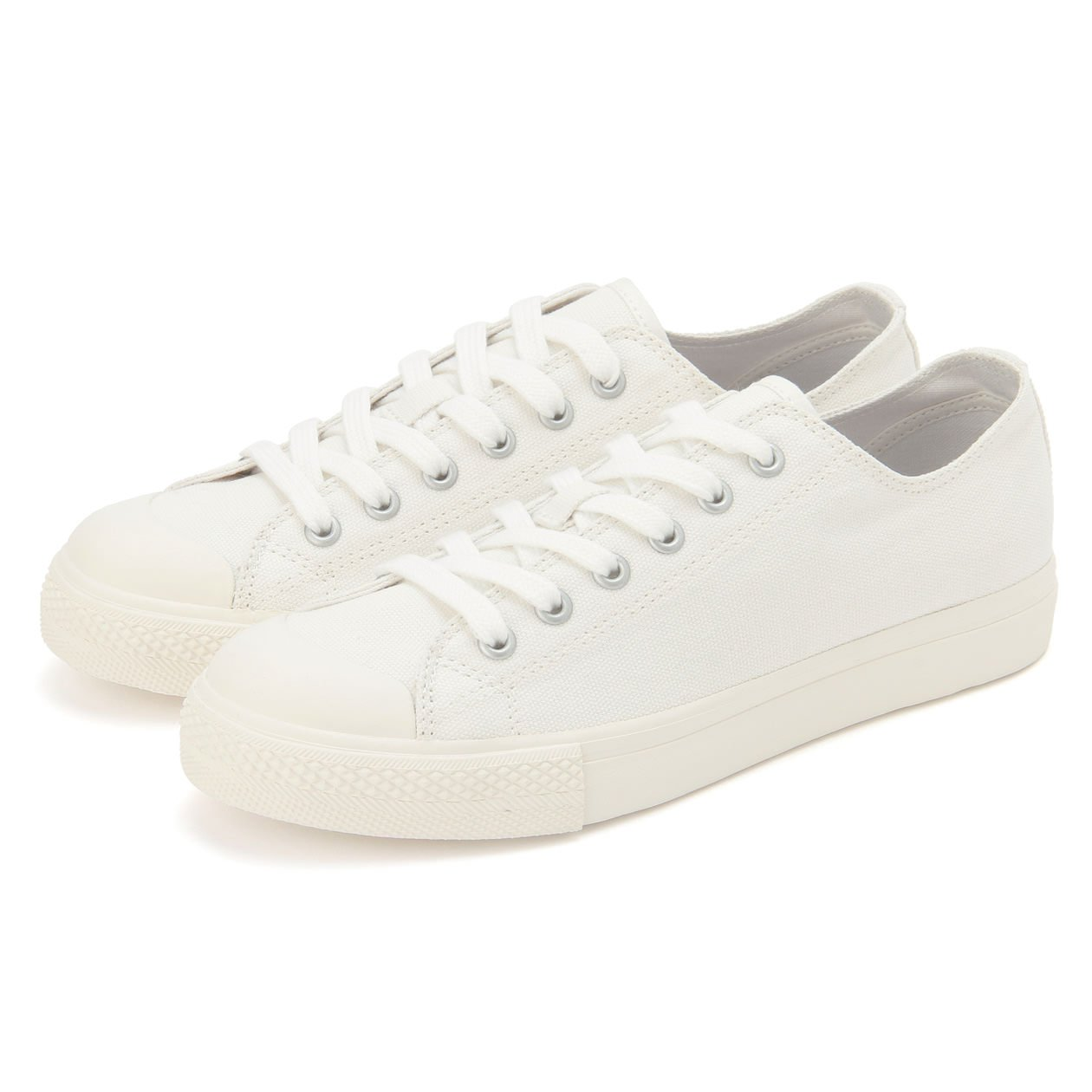 WATER REPELLENT OGC WALK-SUPPORT SNEAKERS (LADIES) 22cm OFF WHITE | MUJI
