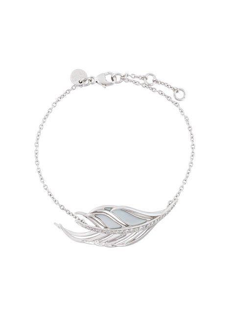 Shaun Leane White Feather diamond bracelet