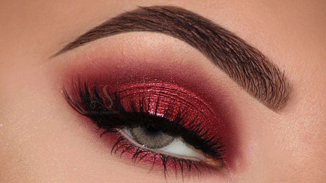 Red Eyeshadow