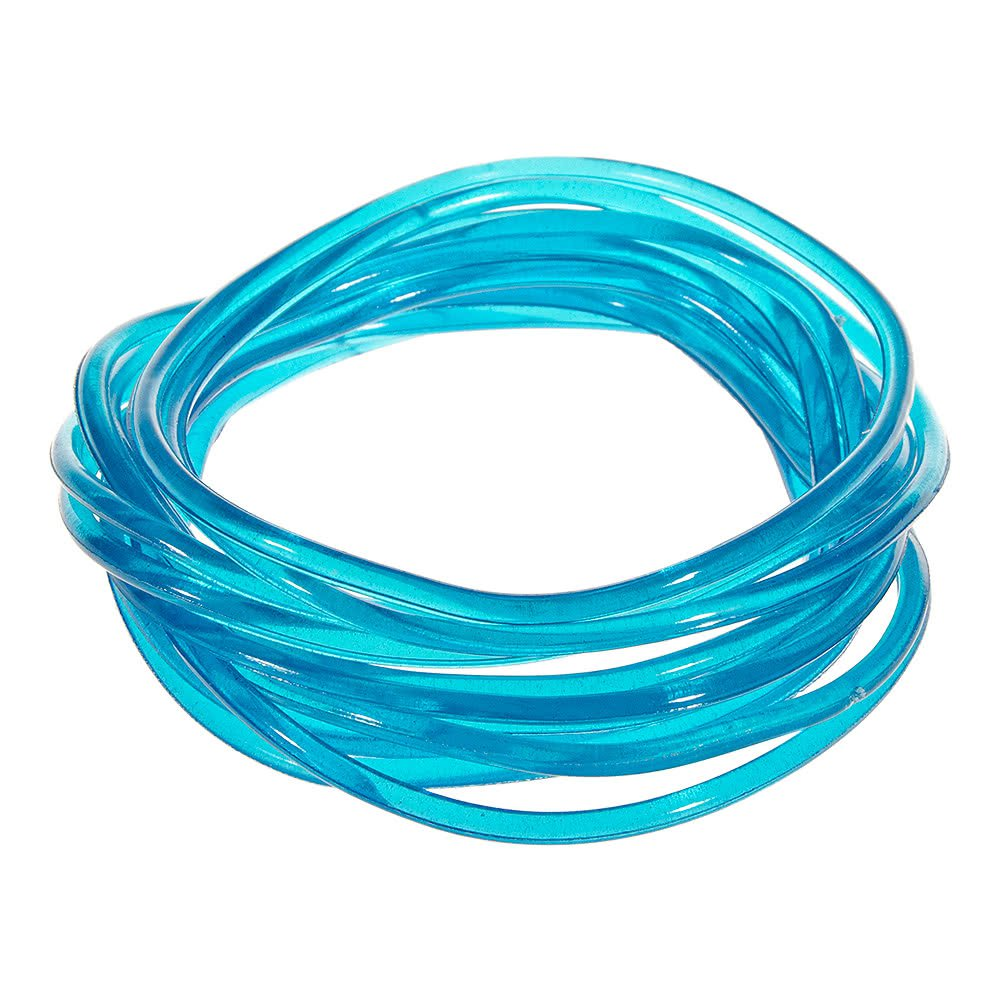 Blue Banana Pack Of 12 Gummy Bracelets (Blue) | Blue Banana UK