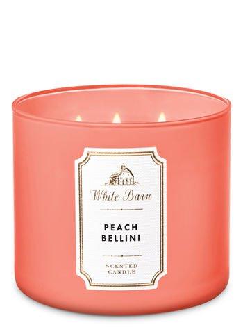 "White Barn Candle ""Peach Bellini"""