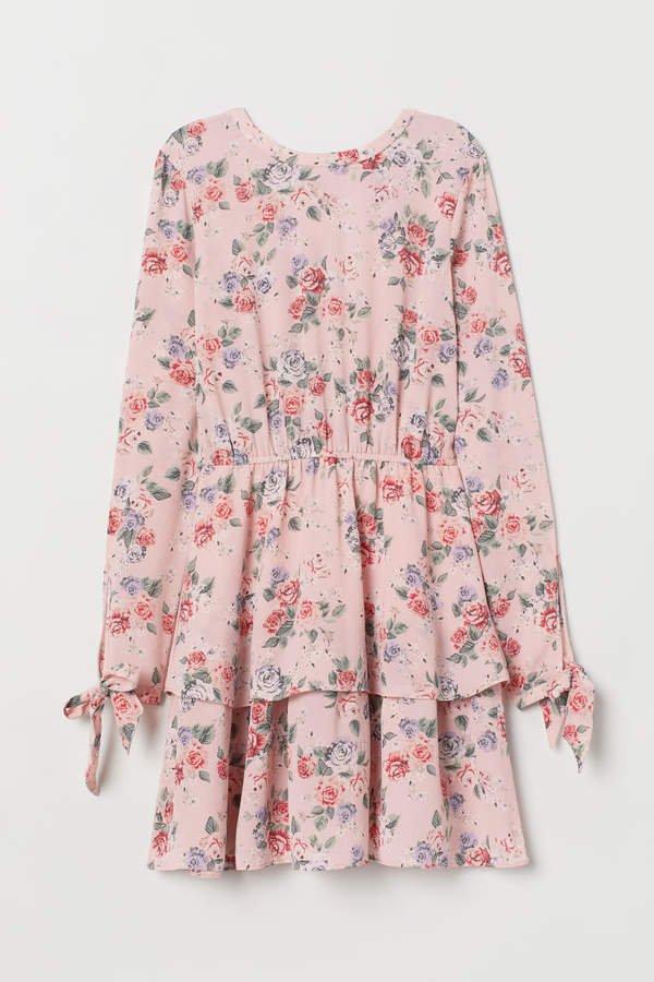 Tiered Dress - Pink
