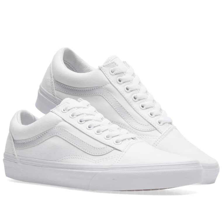Vans California Old Skool (True White) | END.