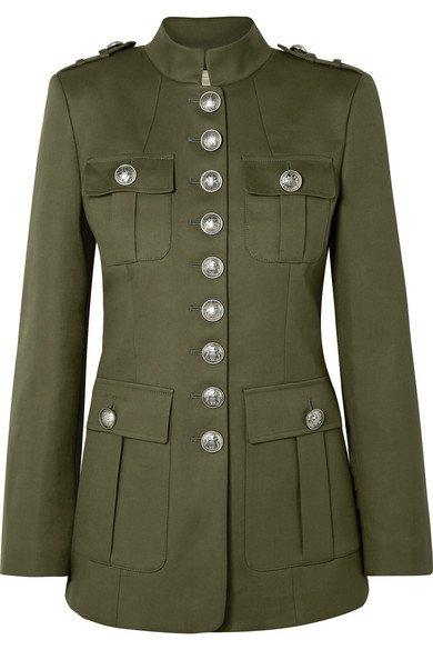Michael Kors Collection   Cotton-twill jacket   NET-A-PORTER.COM