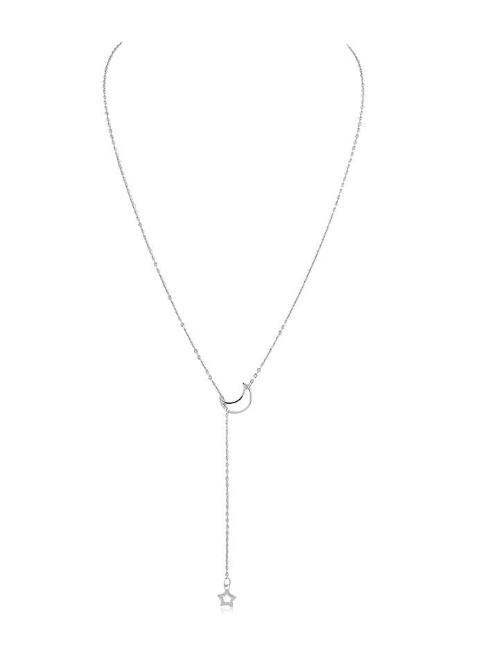 [29% OFF] Star Moon Decoration Chain Necklace | Rosegal