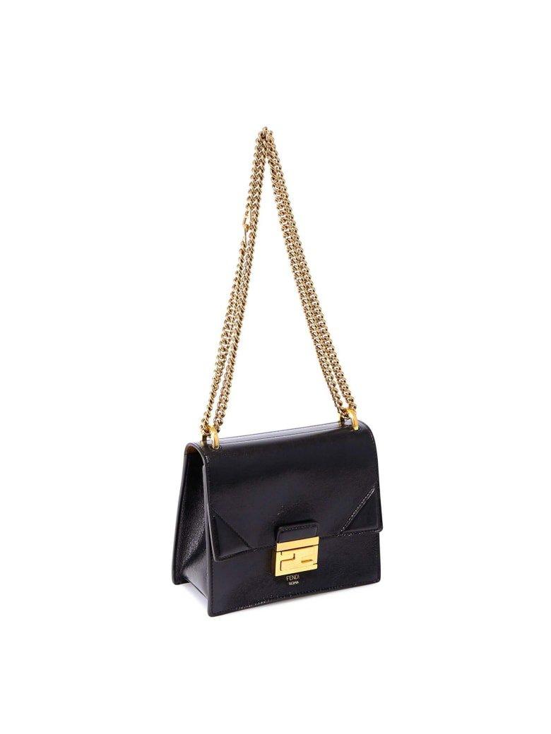 Fendi Fendi Kan U Small Shoulder Bag - Black - 11105939 | italist