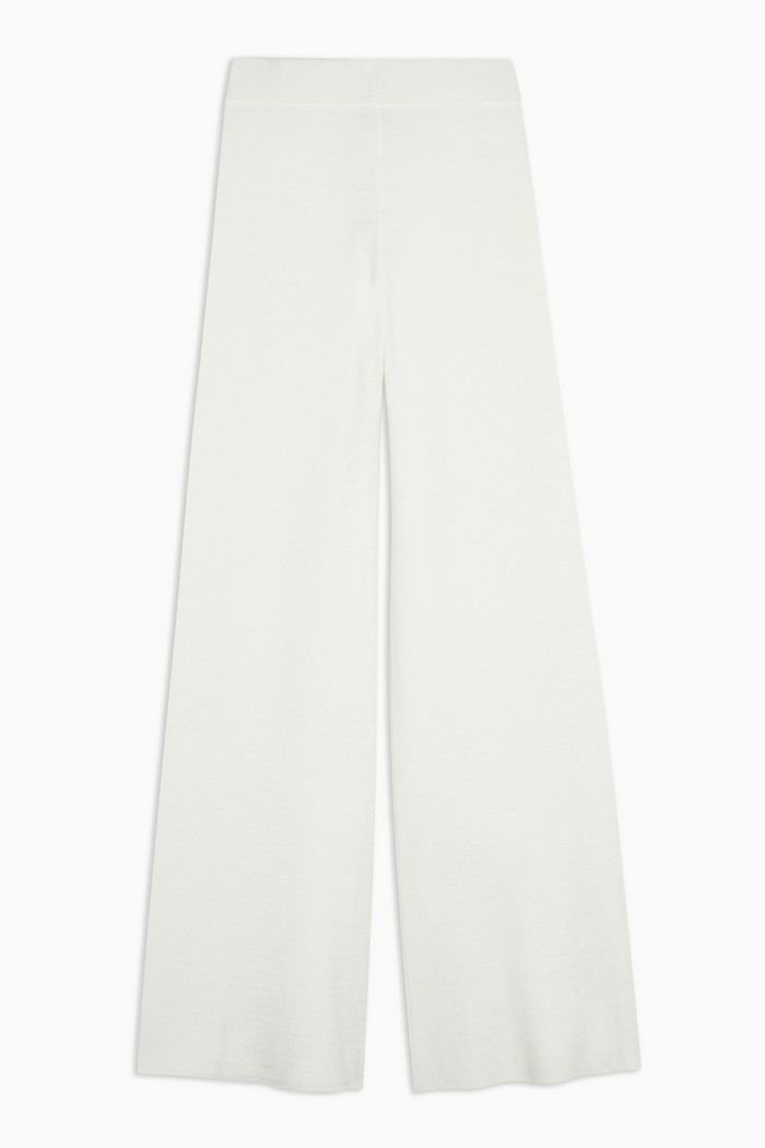 Ivory Knitted Trousers | Topshop