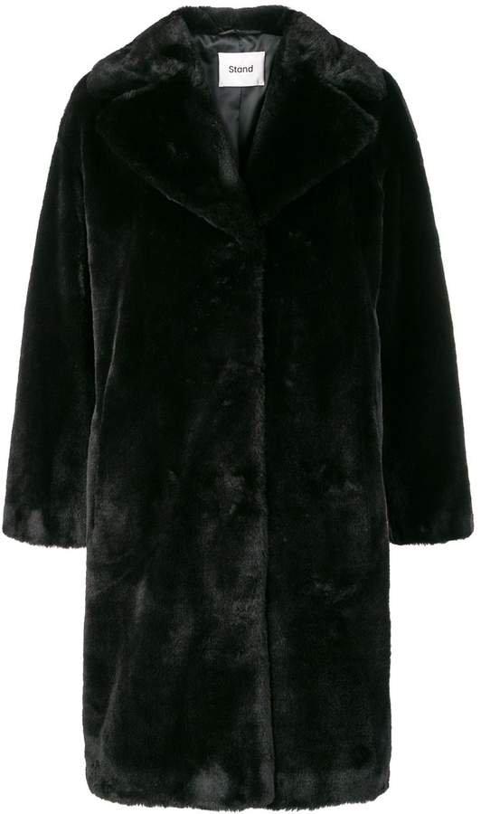 STAND STUDIO soft teddy coat