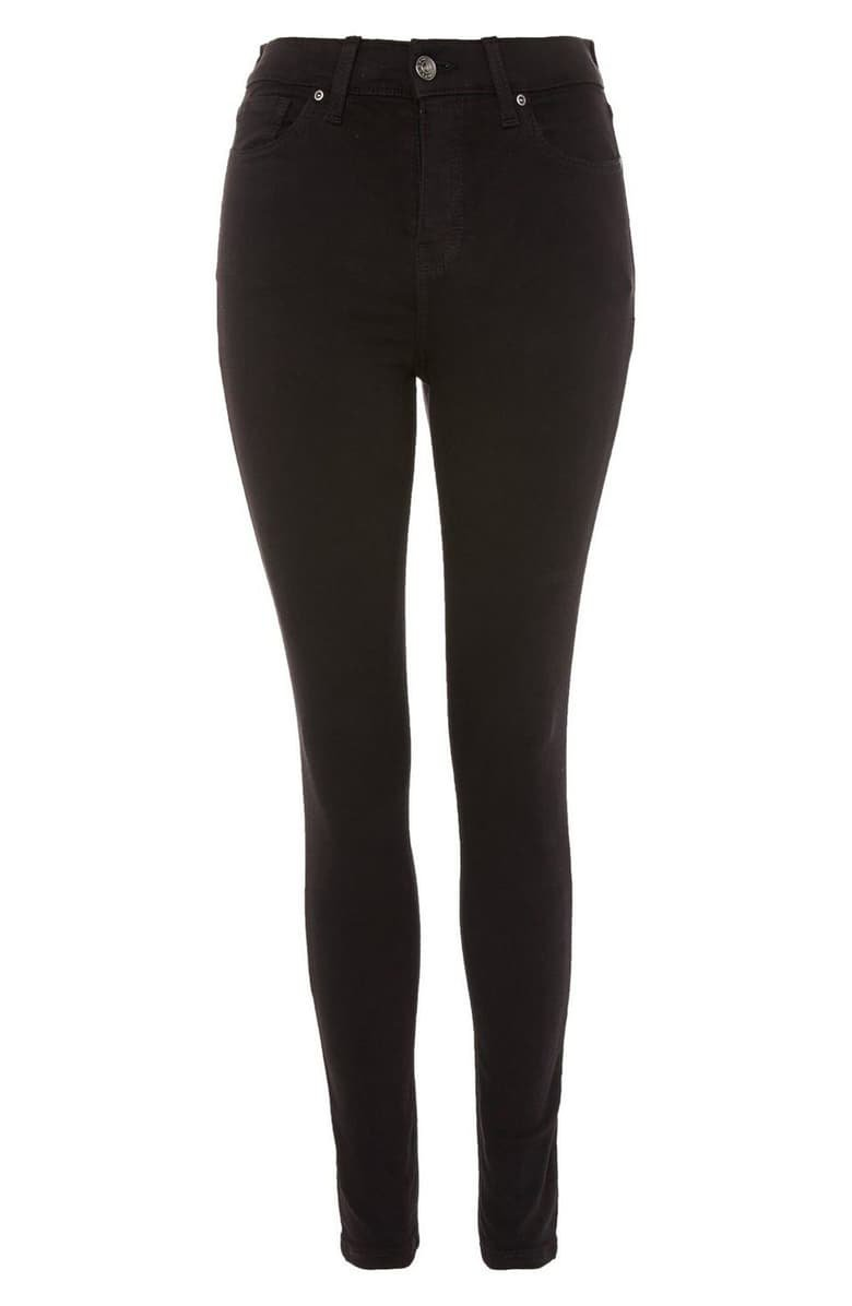 Topshop Moto Jamie High Waist Black Jeans (Regular & Petite)   Nordstrom