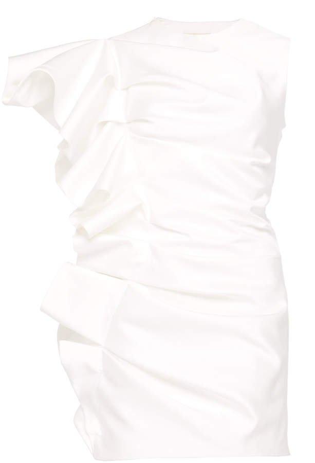 Ruffled Mini Dress