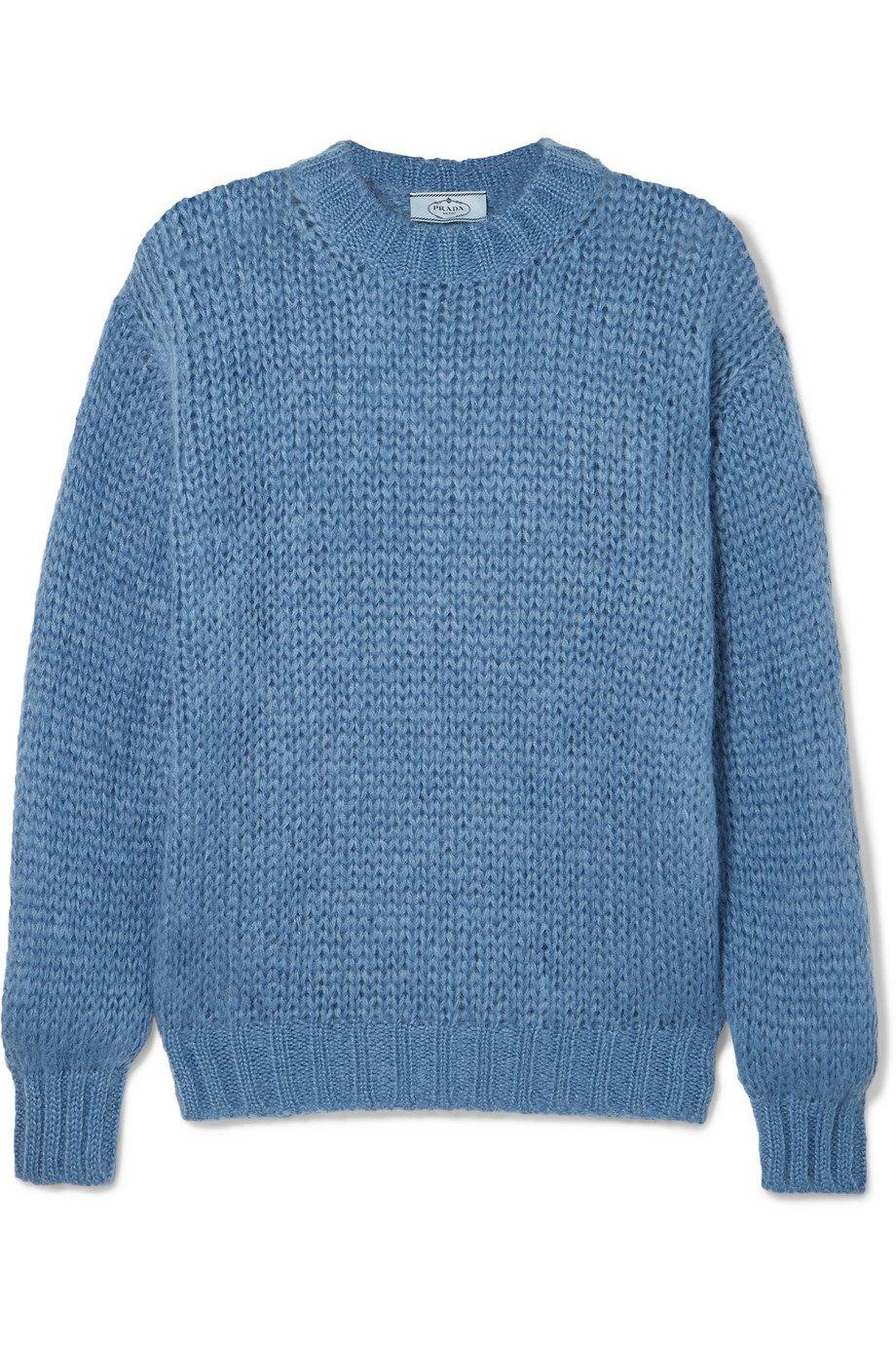 Prada | Mohair-blend sweater | NET-A-PORTER.COM