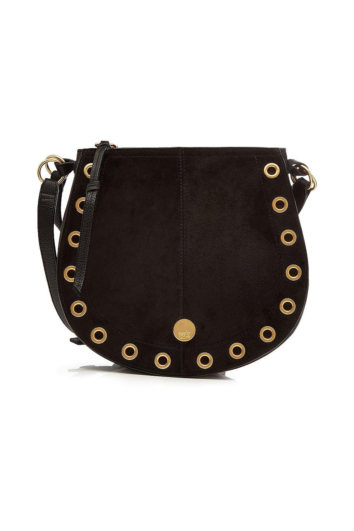 Suede Shoulder Bag Gr. One Size