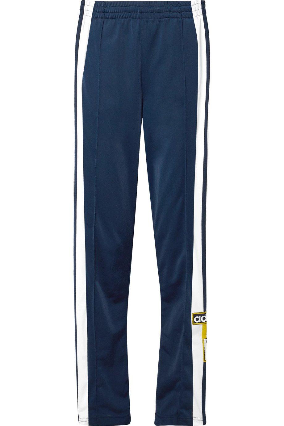 adidas Originals | Adibreak striped shell track pants | NET-A-PORTER.COM