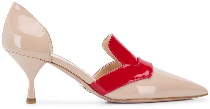 pointy toe slingback pumps