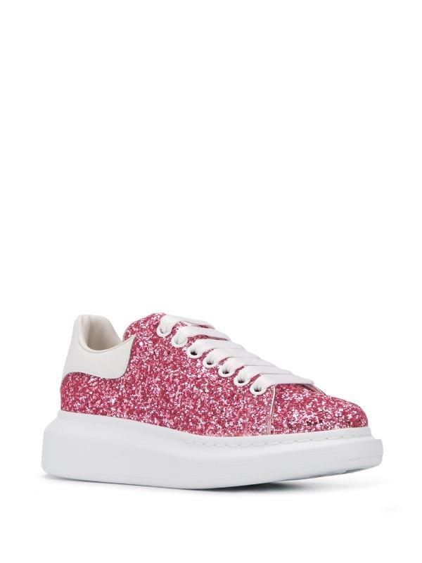 Alexander McQueen Oversized Glitter Sneakers   Farfetch.com