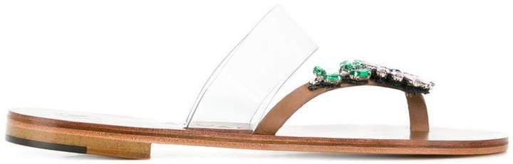 Álvaro embellished flat sandals
